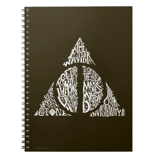 DEATHLY HALLOWS Typography Gr