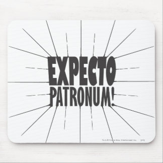 Harry Potter Spell | Expecto Patronum! Mouse Pad