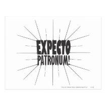 Harry Potter Spell   Expecto Patronum! Postcard