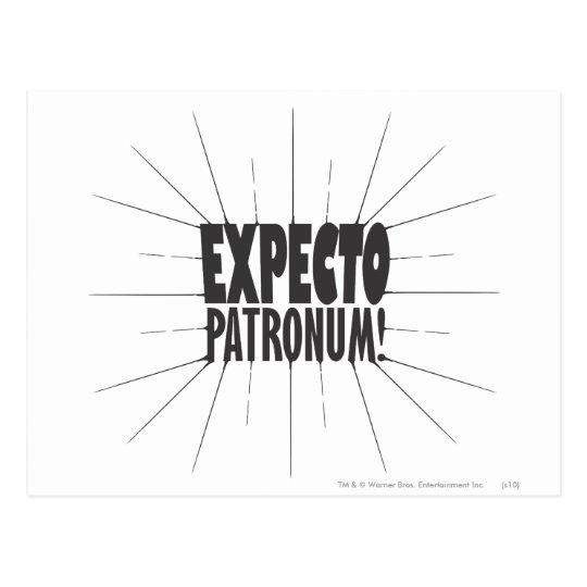 Harry Potter Spell | Expecto Patronum! Postcard