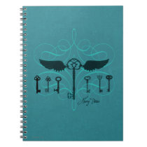 Harry Potter Spell | Flying Keys Notebook