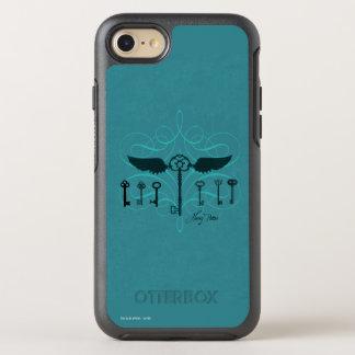 Harry Potter Spell   Flying Keys OtterBox Symmetry iPhone 8/7 Case