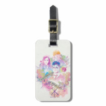 Harry Potter Spell   Harry, Hermione, & Ron Waterc Luggage Tag