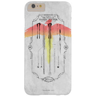 Harry Potter Spell | Harry's Wand Infographic Barely There iPhone 6 Plus Case