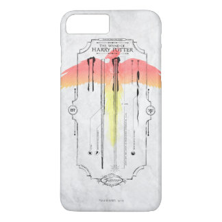 Harry Potter Spell   Harry's Wand Infographic iPhone 8 Plus/7 Plus Case