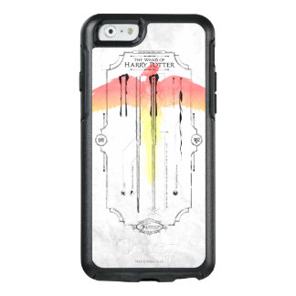 Harry Potter Spell   Harry's Wand Infographic OtterBox iPhone 6/6s Case