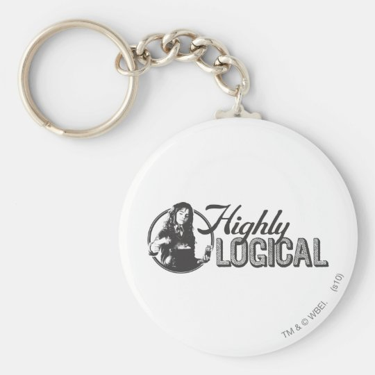 Harry Potter Spell | Highly Logical Keychain