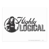 Harry Potter Spell   Highly Logical Postcard
