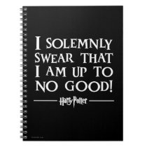 Harry Potter Spell   I Solemnly Swear Notebook