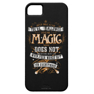 Harry Potter Spell   Just Because You're Allowed T iPhone SE/5/5s Case