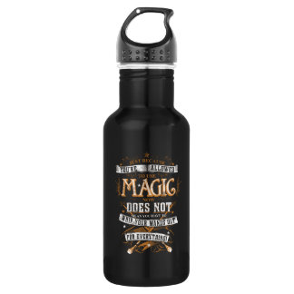 Harry Potter Spell   Just Because You're Allowed T Water Bottle