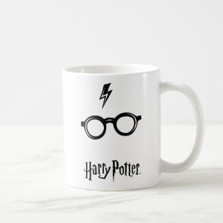 Harry Potter Spell | Lightning Scar and Glasses Coffee Mug