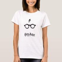 Harry Potter Spell   Lightning Scar and Glasses T-Shirt