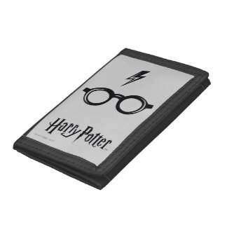 Harry Potter Spell | Lightning Scar and Glasses Tri-fold Wallet
