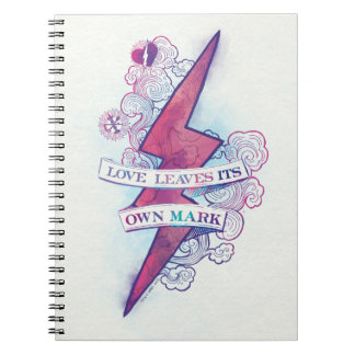 Harry Potter Spell | Love Leaves Its Own Mark Notebook