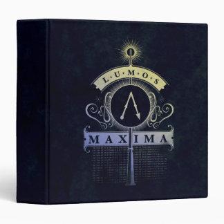 Harry Potter Spell   Lumos Maxima Graphic Binder