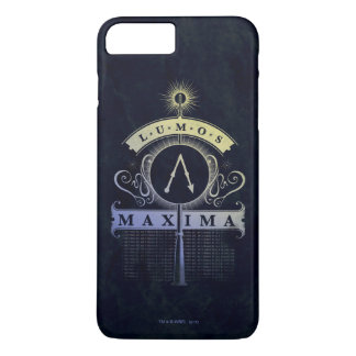 Harry Potter Spell | Lumos Maxima Graphic iPhone 8 Plus/7 Plus Case
