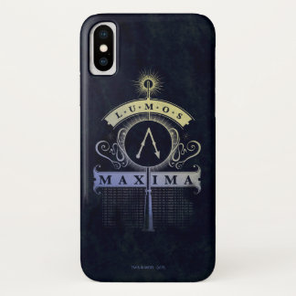 Harry Potter Spell | Lumos Maxima Graphic iPhone X Case