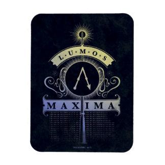 Harry Potter Spell | Lumos Maxima Graphic Magnet