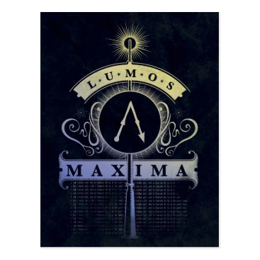 harrypotter Harry Potter Spell | Lumos Maxima Graphic Postcard