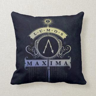 Harry Potter Spell | Lumos Maxima Graphic Throw Pillow