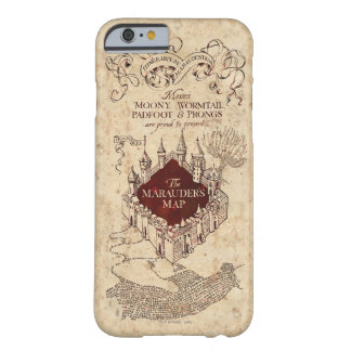 Harry Potter Spell | Marauder's Map Barely There iPhone 6 Case