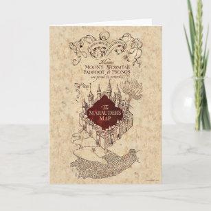Harry Potter Spell Marauder S Map Card