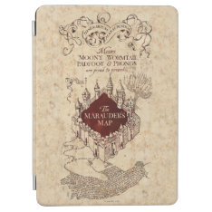 Harry Potter Spell | Marauder's Map Ipad Air Cover at Zazzle