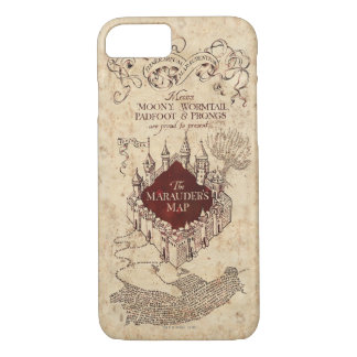 Harry Potter Spell | Marauder's Map iPhone 8/7 Case