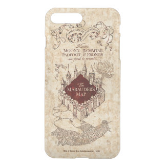 Harry Potter Spell | Marauder's Map iPhone 8 Plus/7 Plus Case