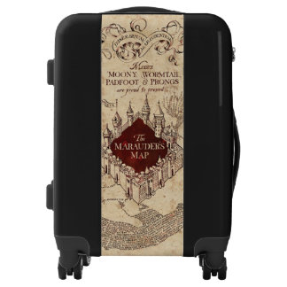 Harry Potter Spell | Marauder's Map Luggage