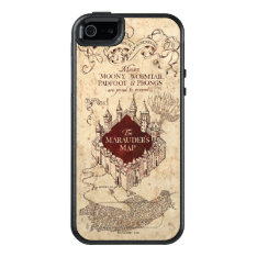 Harry Potter Spell | Marauder's Map Otterbox Iphone 5/5s/se Case at Zazzle