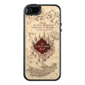 Harry Potter Spell | Marauder's Map OtterBox iPhone 5/5s/SE Case