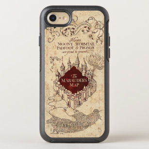 outlet store 4d242 21872 Harry Potter Spell   Marauder's Map OtterBox Symmetry iPhone 8/7 Case