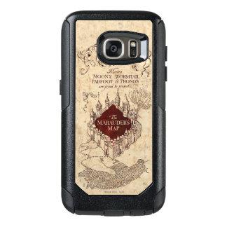 Harry Potter Spell   Marauder's Map OtterBox Samsung Galaxy S7 Case