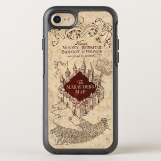 Harry Potter Spell | Marauder's Map OtterBox Symmetry iPhone 7 Case