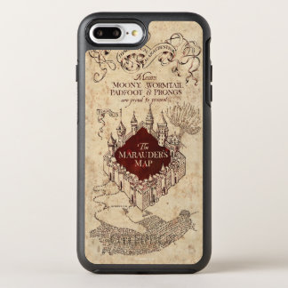 Harry Potter Spell | Marauder's Map OtterBox Symmetry iPhone 7 Plus Case