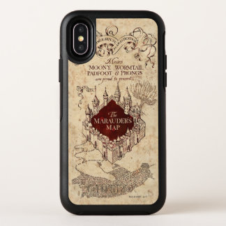 Harry Potter Spell | Marauder's Map OtterBox Symmetry iPhone X Case