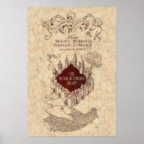 Harry Potter Spell   Marauder's Map Poster