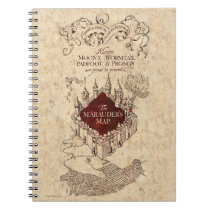 Harry Potter Spell | Marauder's Map Spiral Notebook