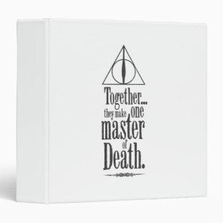 Harry Potter Spell   Master of Death Binder