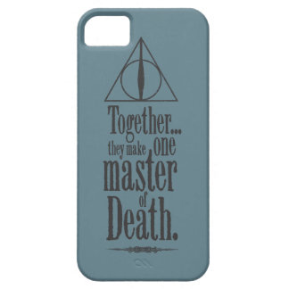 Harry Potter Spell   Master of Death iPhone SE/5/5s Case