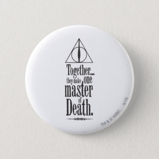 Harry Potter Spell | Master of Death Pinback Button