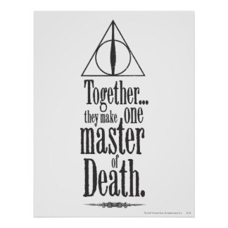 Harry Potter Spell | Master of Death Poster