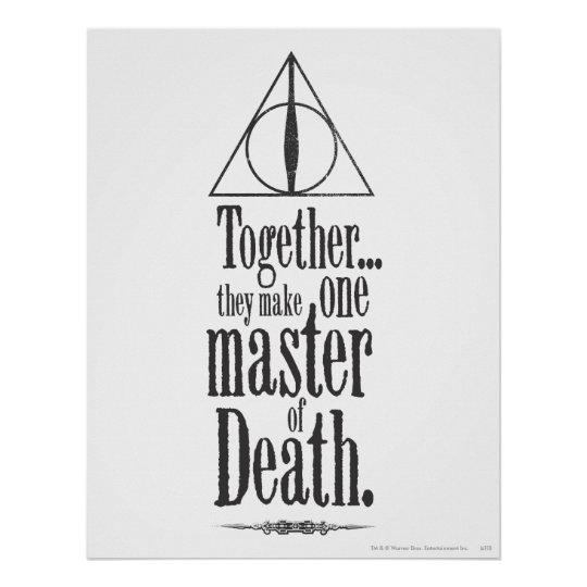 Harry Potter Spell | Master of Death Poster