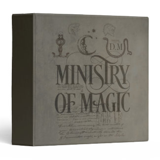 Harry Potter Spell | MINISTRY OF MAGIC Binder