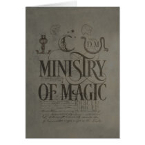 Harry Potter Spell   MINISTRY OF MAGIC Card
