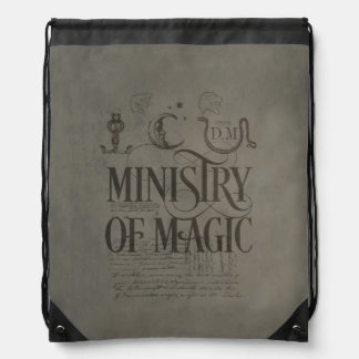 Harry Potter Spell | MINISTRY OF MAGIC Drawstring Backpack