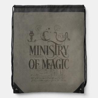 Harry Potter Spell | MINISTRY OF MAGIC Drawstring Backpack