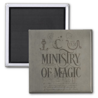 Harry Potter Spell | MINISTRY OF MAGIC Magnet